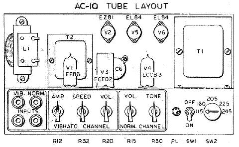 VOX VT50 Service Manual download, schematics, eeprom