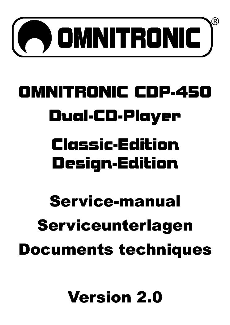 OMNITRONIC P-500 1000 1500 SCH Service Manual free