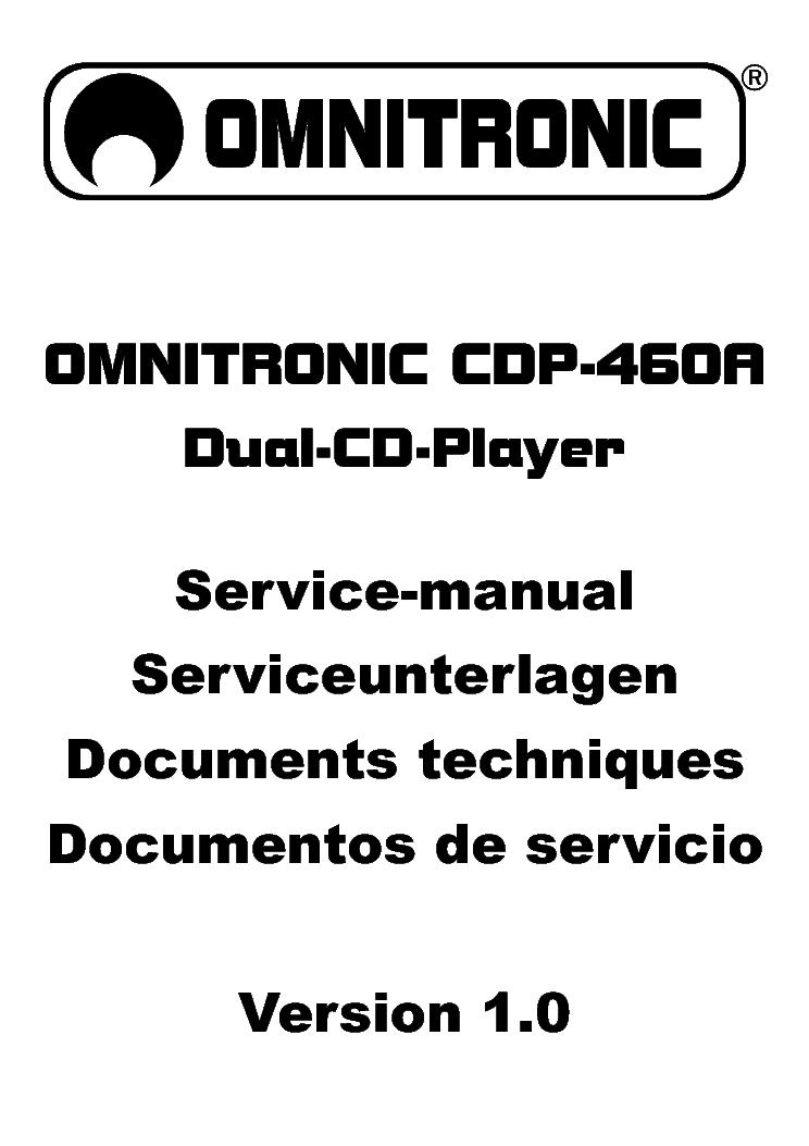 OMNITRONIC P-500 1000 1500 SCH Service Manual download
