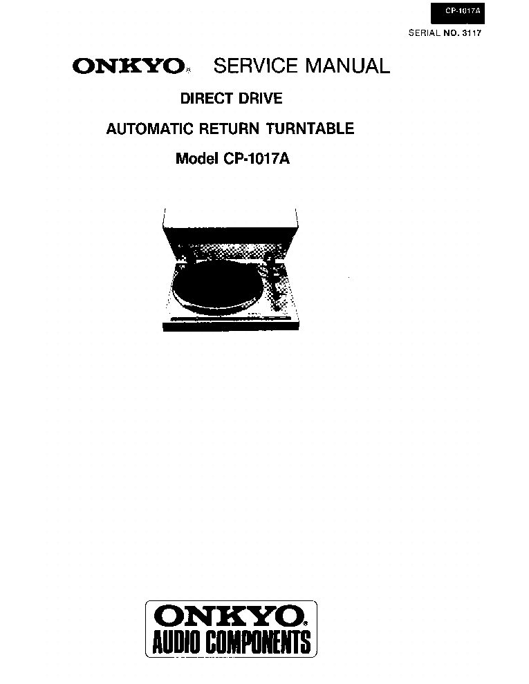 ONKYO A-9711 SM Service Manual download, schematics