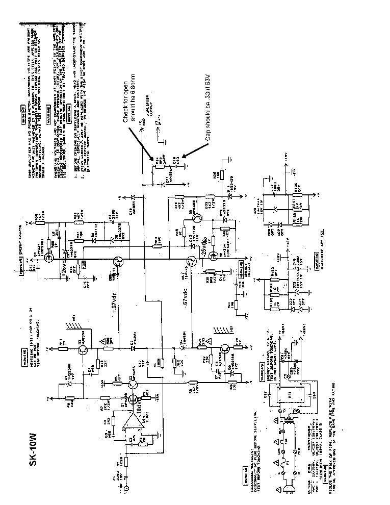 ONKYO SKW-540 Service Manual free download, schematics