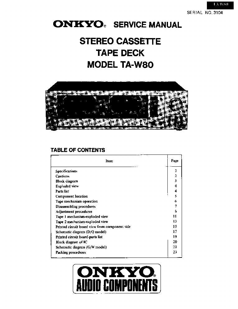 ONKYO TX-NR906 SCH Service Manual free download