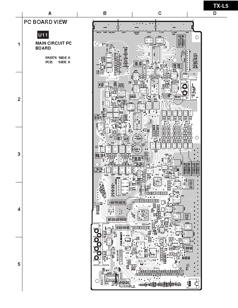 ONKYO TX-L5-PCB LAYOUT-AV-RECEIVER Service Manual download