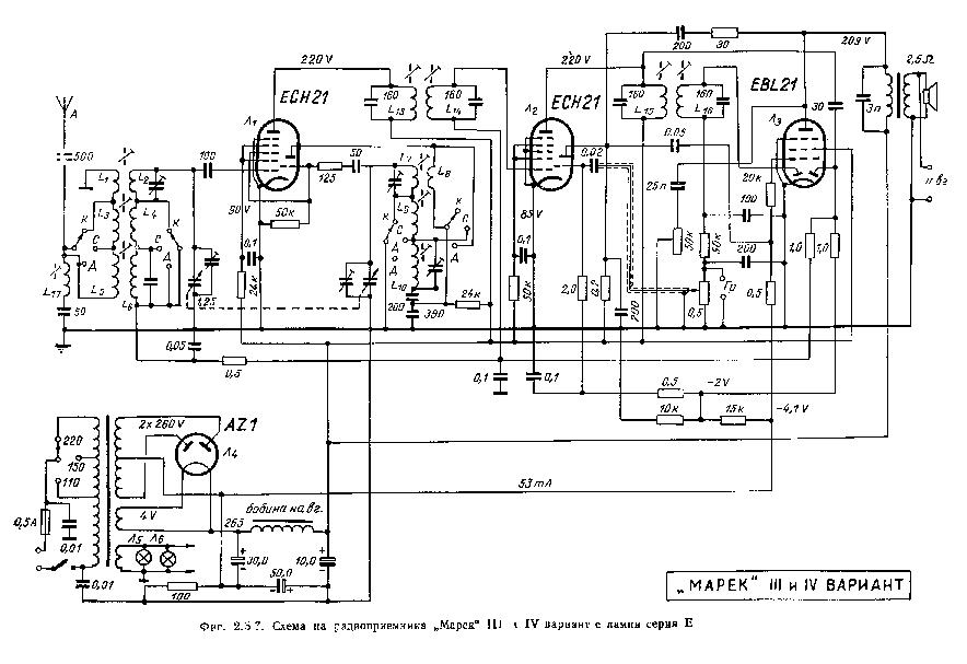 OROSZ USSR MAREK R3-R4-E-TUBES-RADIO Service Manual