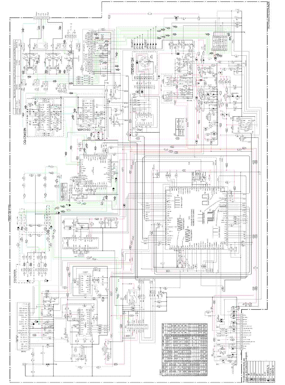 PANASONIC SC-AK-200 Service Manual download, schematics