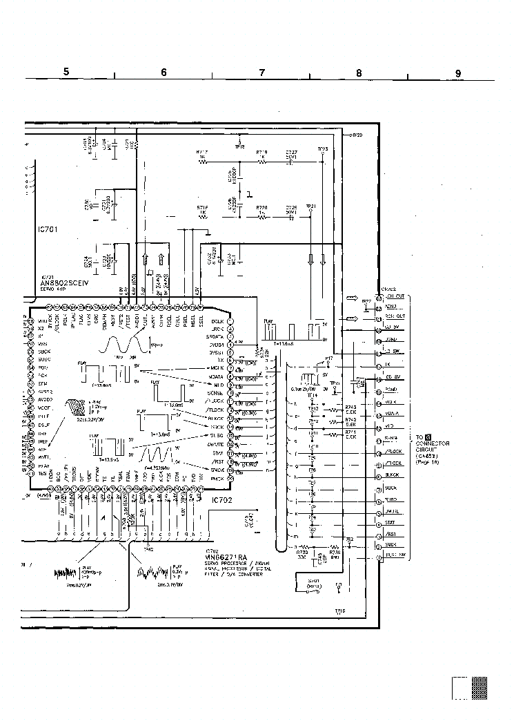 PANASONIC DT600 Service Manual download, schematics