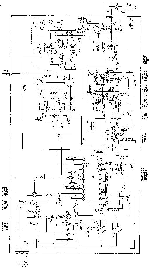 PANASONIC SA-XR57E Service Manual download, schematics