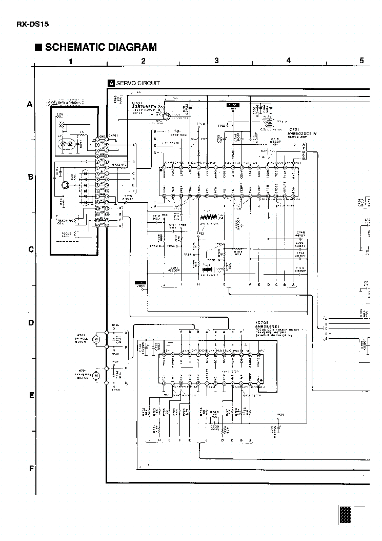PANASONIC RX-DS15 1 Service Manual download, schematics