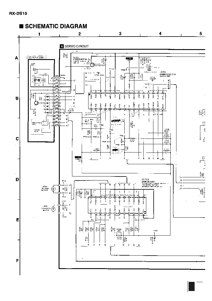 PANASONIC RX-DS15 SCH Service Manual download, schematics
