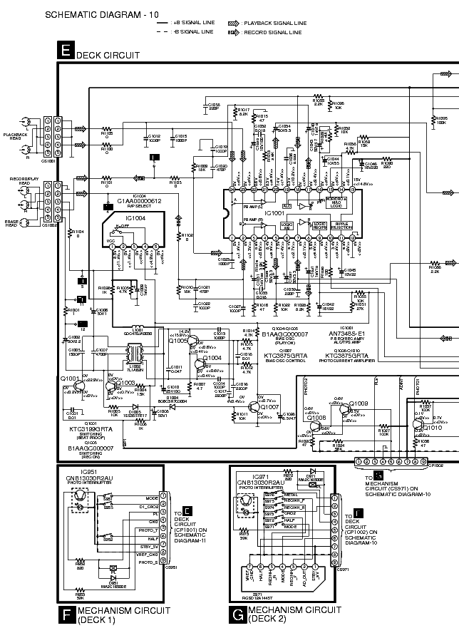 PANASONIC SA-AK200 Service Manual download, schematics
