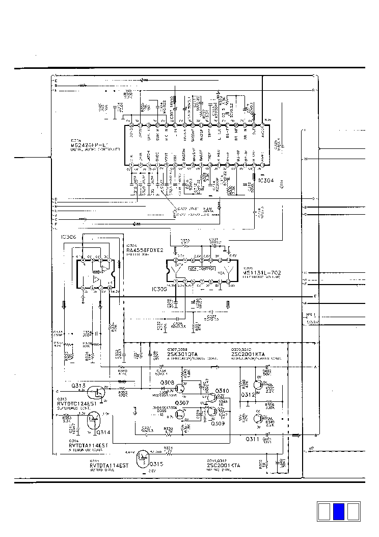 PANASONIC SA-CH32 Service Manual download, schematics