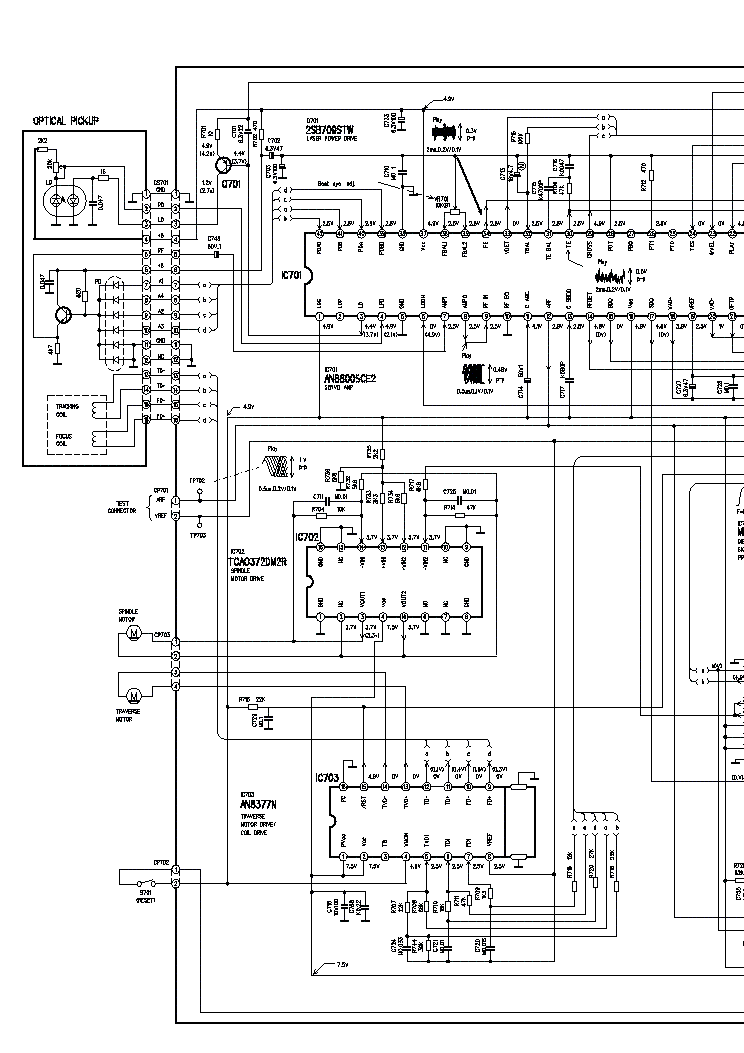 PANASONIC SA-CH33 SCH Service Manual download, schematics