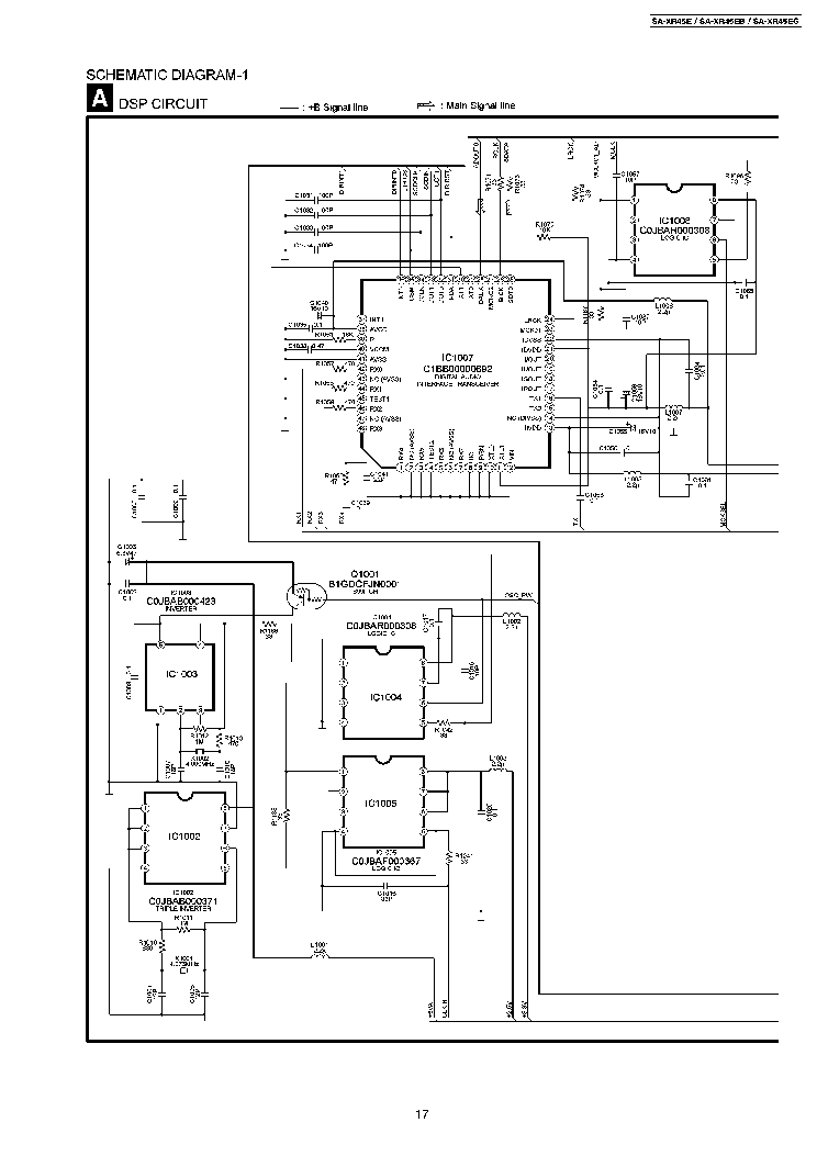 PANASONIC SA-PT465E Service Manual download, schematics