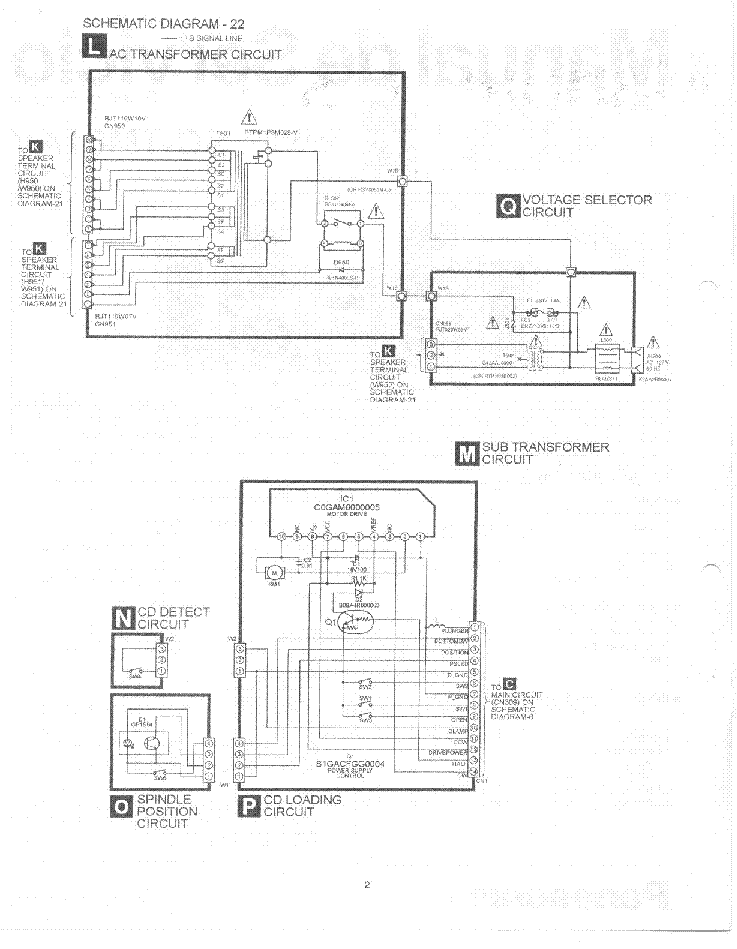PANASONIC SC-TM81AV Service Manual download, schematics