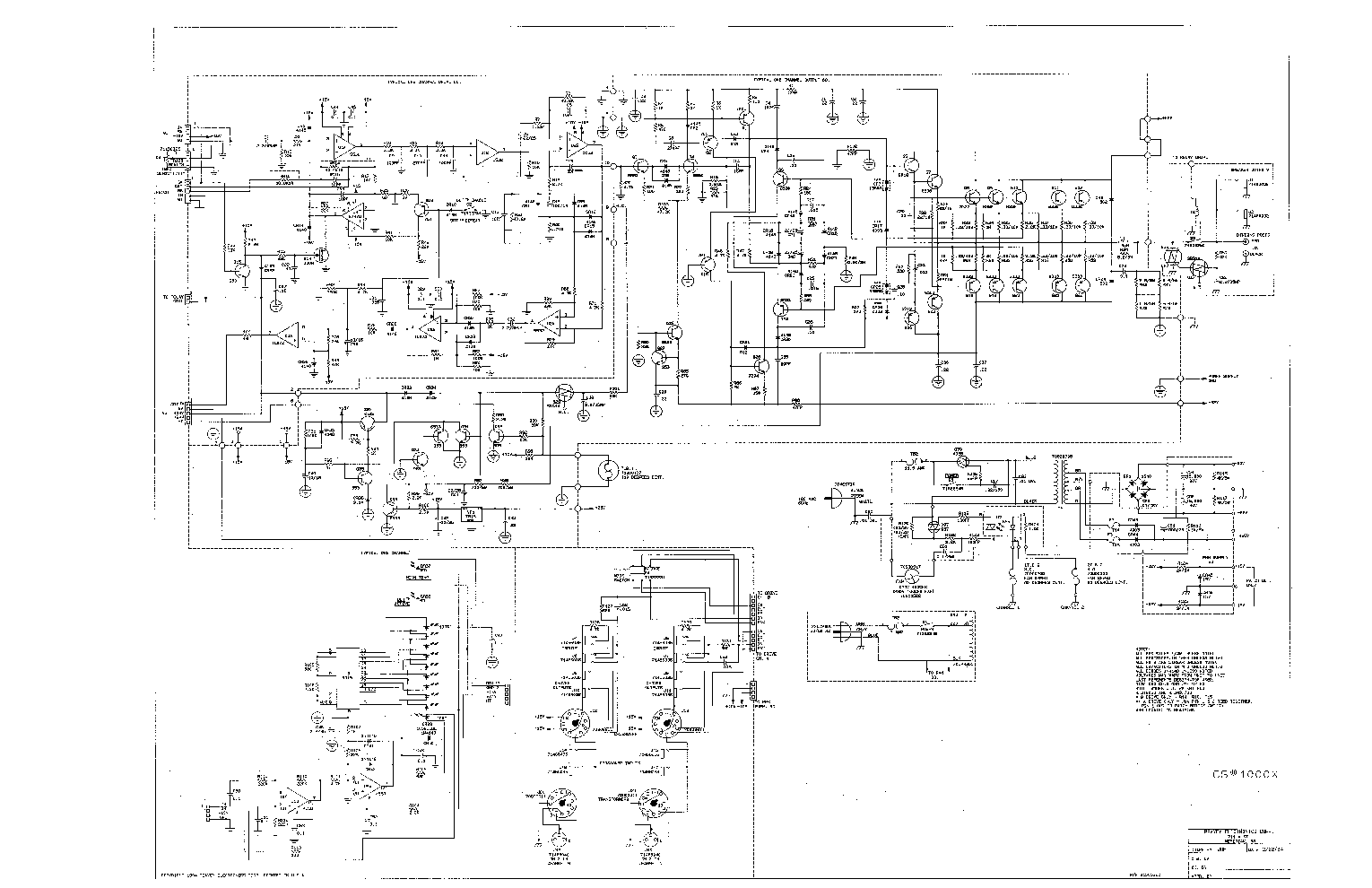 Peavey Amplifier Schematics Electrical Drawing Wiring Diagram