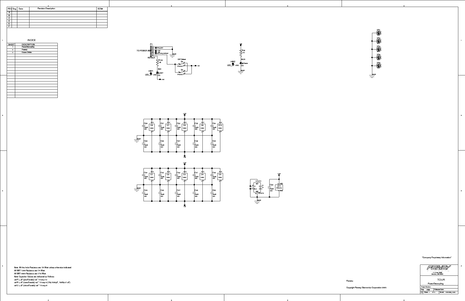 PEAVEY CS800X Service Manual free download, schematics