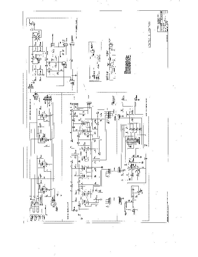 PEAVEY VTM 120 SCH Service Manual download, schematics