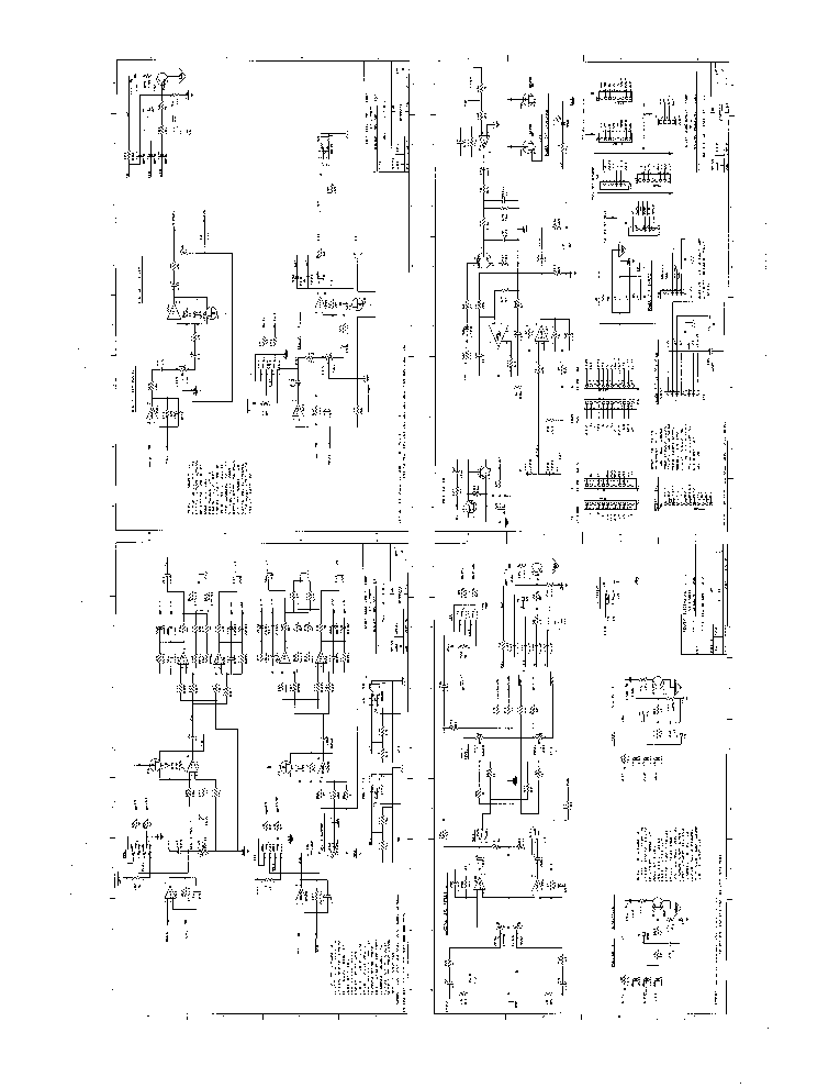 PEAVEY XR2012 SCH Service Manual download, schematics