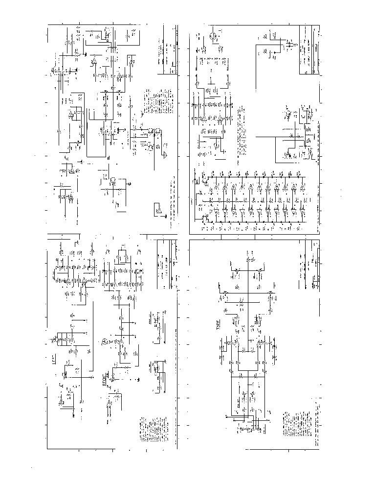 PEAVEY XR2012 SCH Service Manual download, schematics