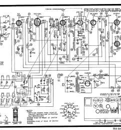 radio schematics free wiring diagram mega philco 40 180 40 185 40 190 radio sch service [ 3003 x 2106 Pixel ]