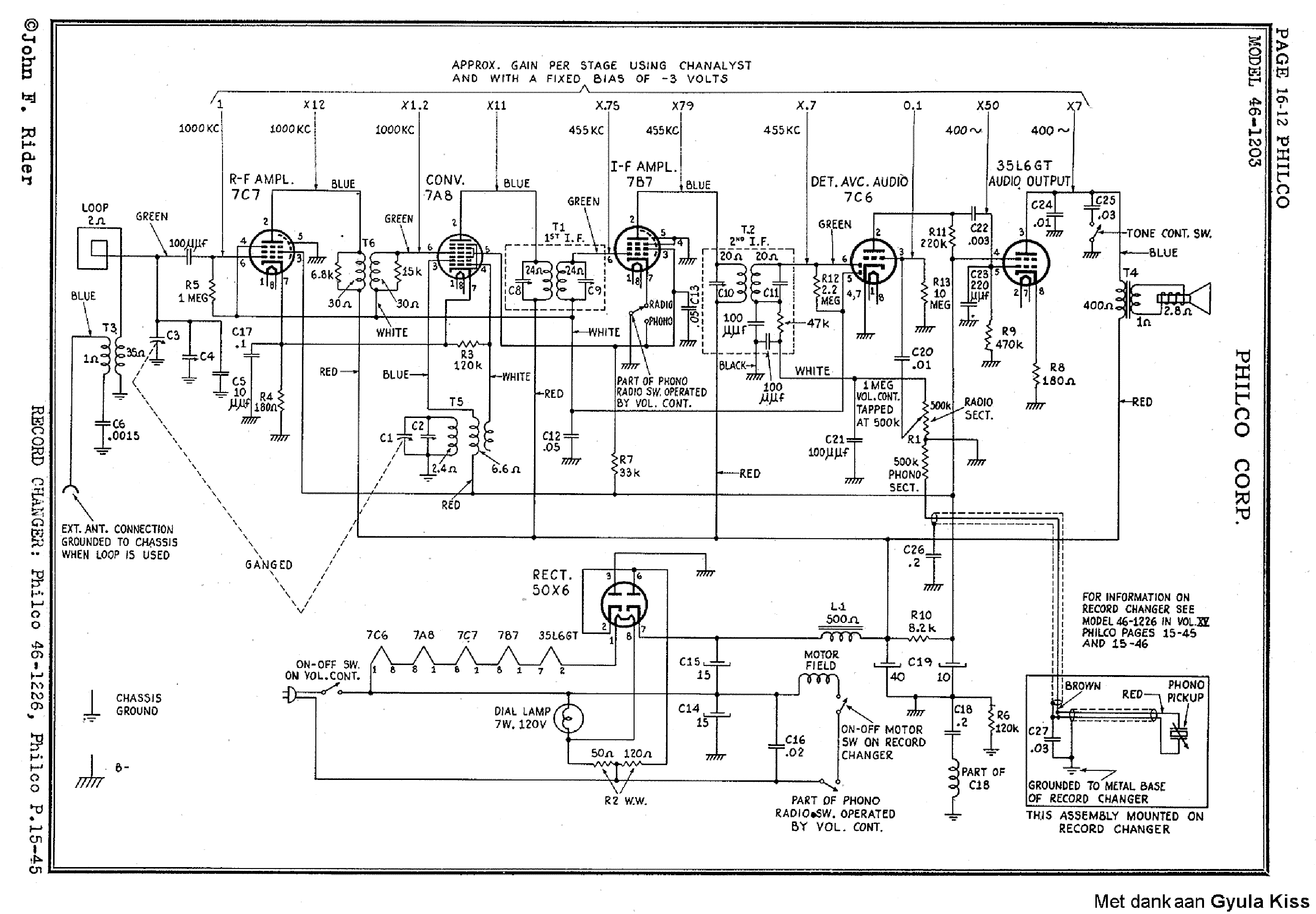 Philco 46 Service Manual Download Schematics Eeprom