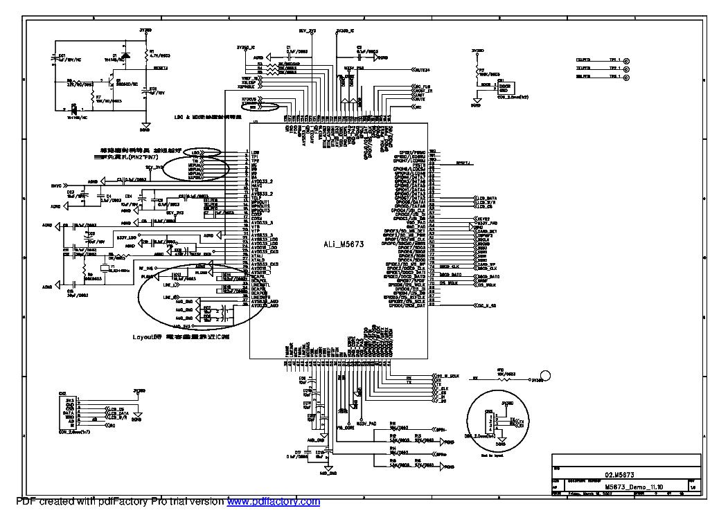 PHILCO ARP2055 MICRO HIFI SCH Service Manual download