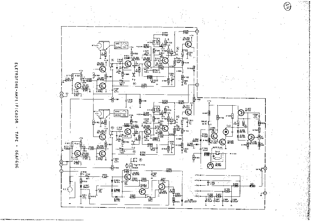 PHILIPS 06AF696 Service Manual download, schematics