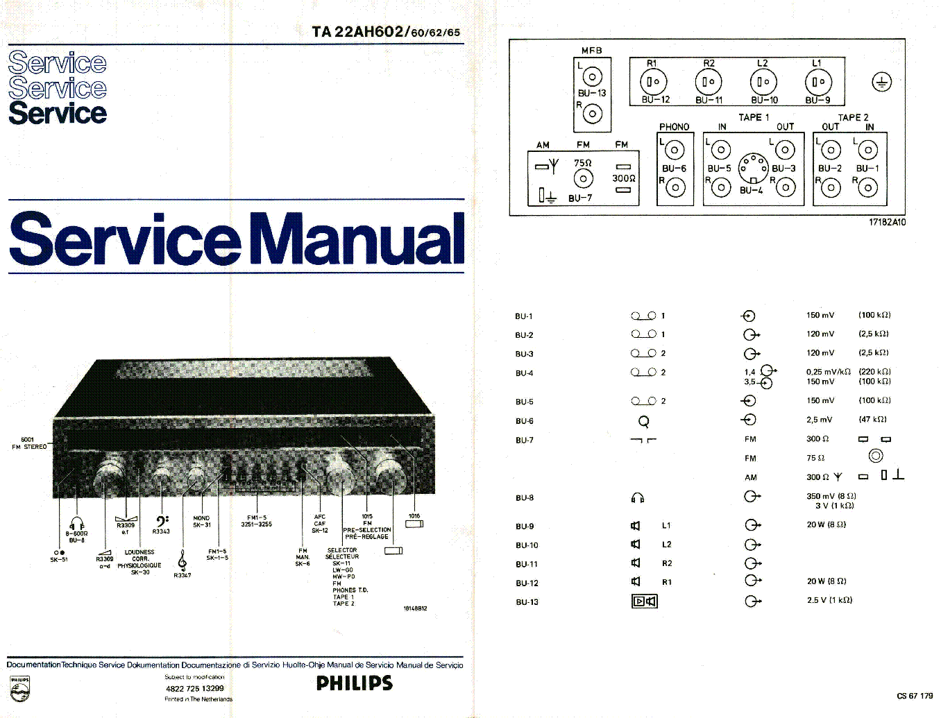 PHILIPS MCM704D Service Manual free download, schematics
