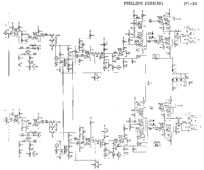 PHILIPS 22RH591 SM Service Manual download, schematics