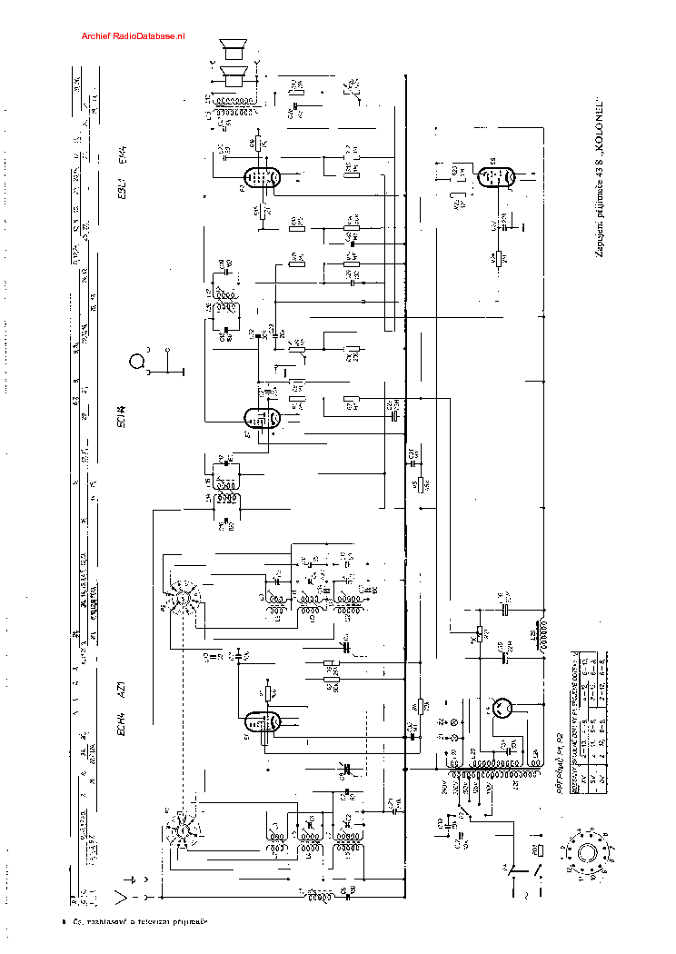 PHILIPS 43S-KOLONEL Service Manual download, schematics