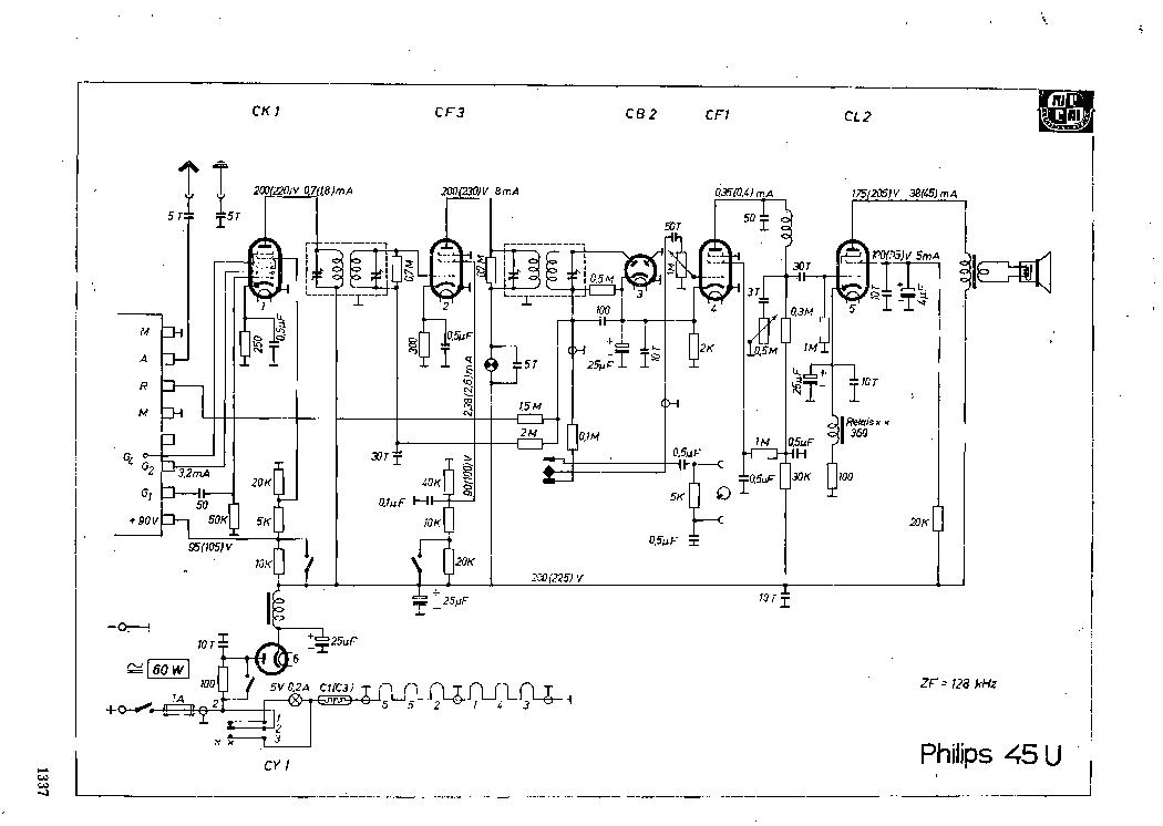 PHILIPS CD650 SM Service Manual download, schematics
