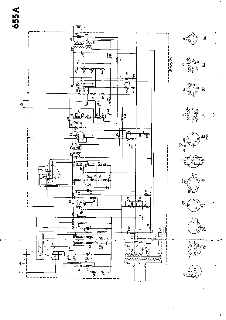 PHILIPS 655A Service Manual download, schematics, eeprom