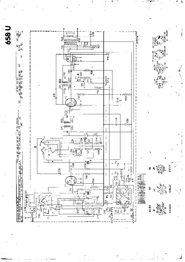 PHILIPS 658U Service Manual download, schematics, eeprom