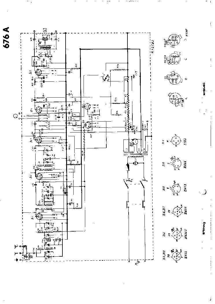 PHILIPS 676A Service Manual download, schematics, eeprom