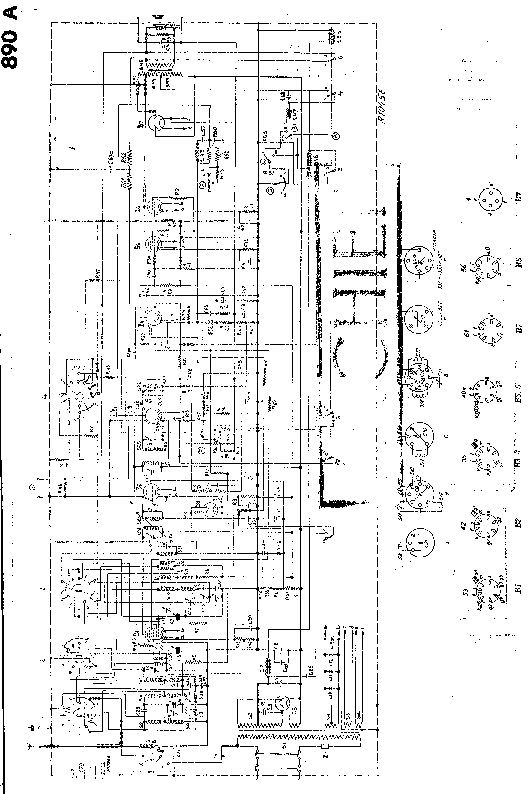 PHILIPS 890A Service Manual download, schematics, eeprom