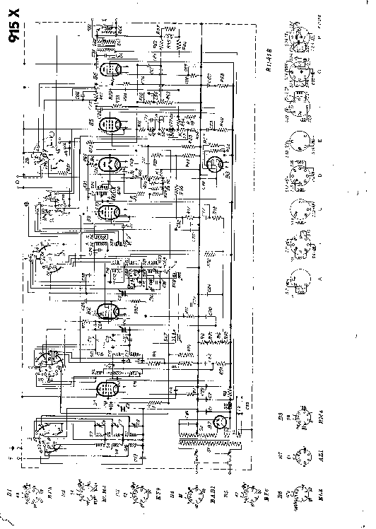 PHILIPS 915X Service Manual download, schematics, eeprom