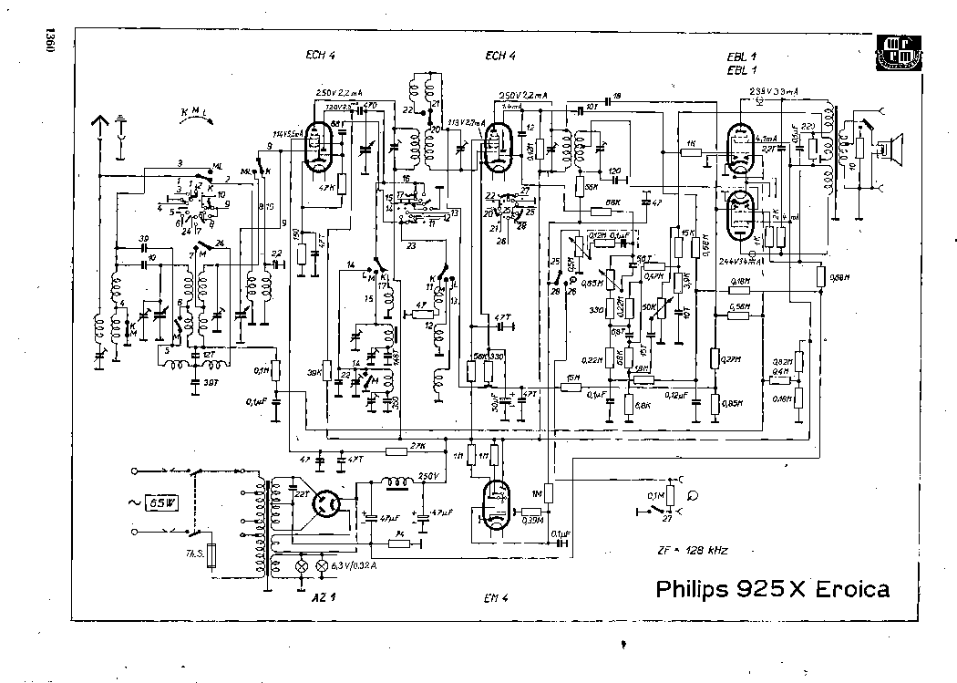 PHILIPS 925X Service Manual download, schematics, eeprom