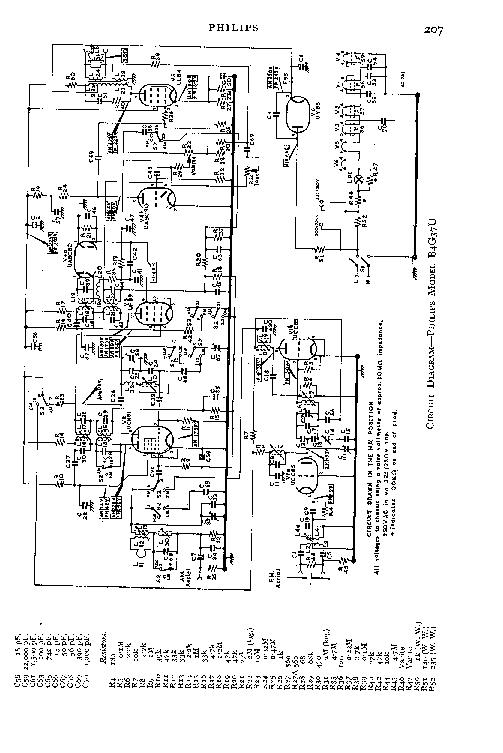 PHILIPS B4G37U Service Manual download, schematics, eeprom