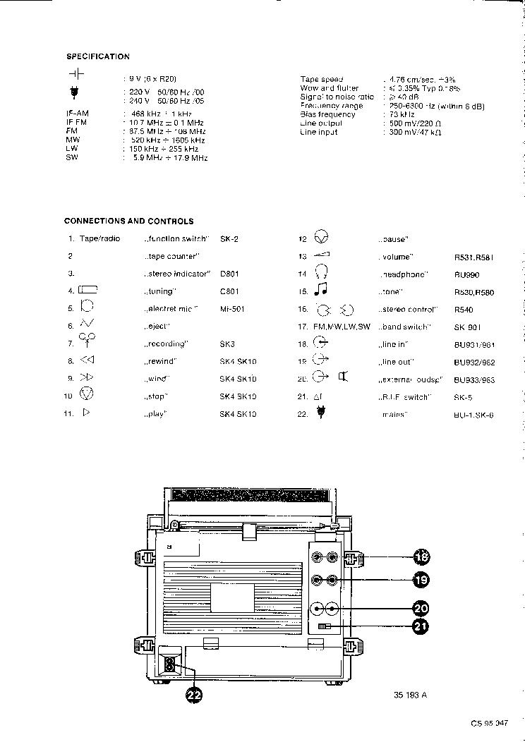 PHILIPS D8234 RTS7 SM Service Manual download, schematics