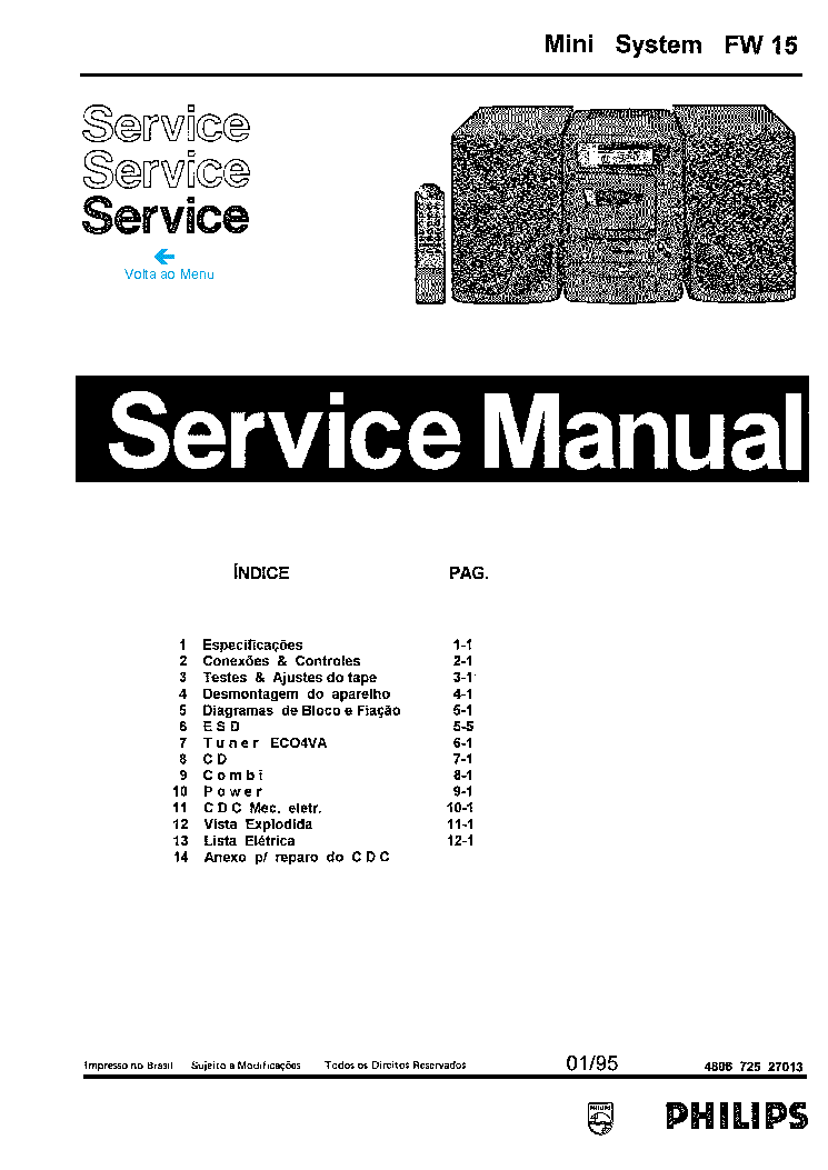 PHILIPS 22AH578 Service Manual download, schematics