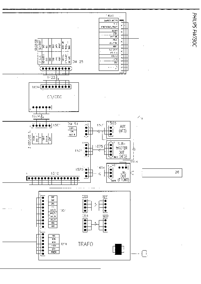 PHILIPS FW-730C Service Manual download, schematics