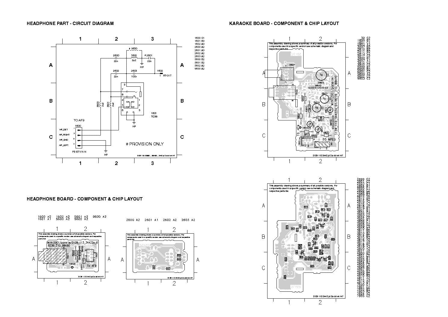 PHILIPS FW-C380 Service Manual download, schematics