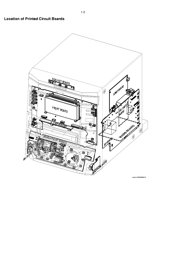 PHILIPS FW-R8 Service Manual download, schematics, eeprom