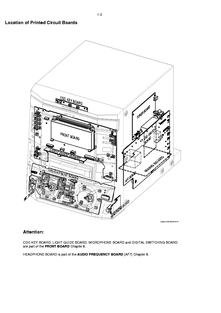 PHILIPS FW-R88 Service Manual download, schematics, eeprom