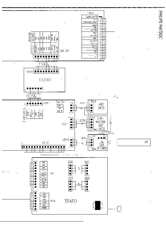 PHILIPS FW730C SCH Service Manual download, schematics