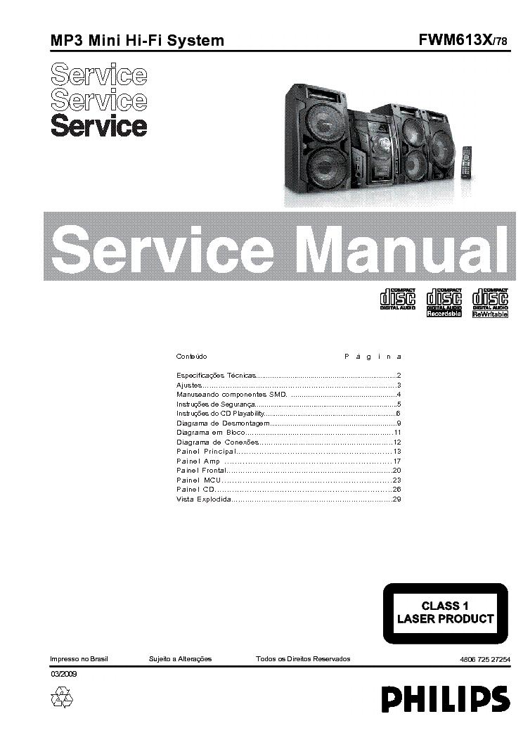 PHILIPS B6X04A Service Manual free download, schematics