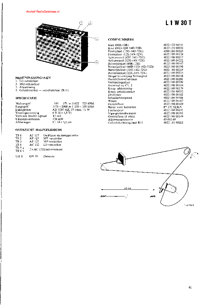 PHILIPS GA212 SM Service Manual free download, schematics