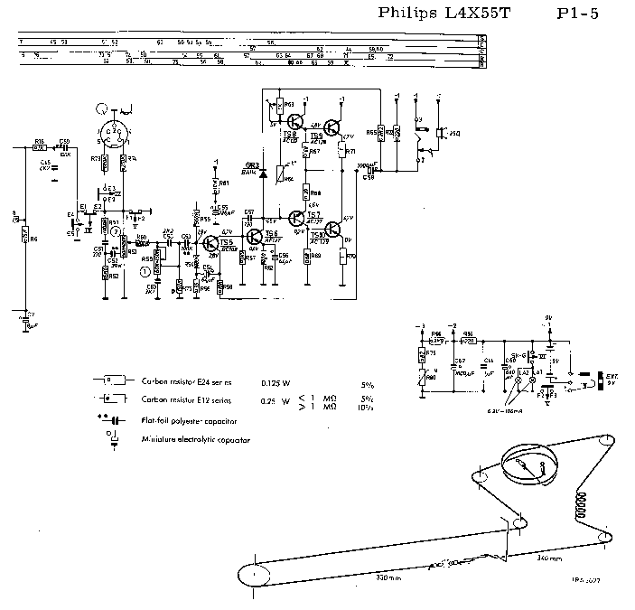 PHILIPS L4X55T SM Service Manual download, schematics