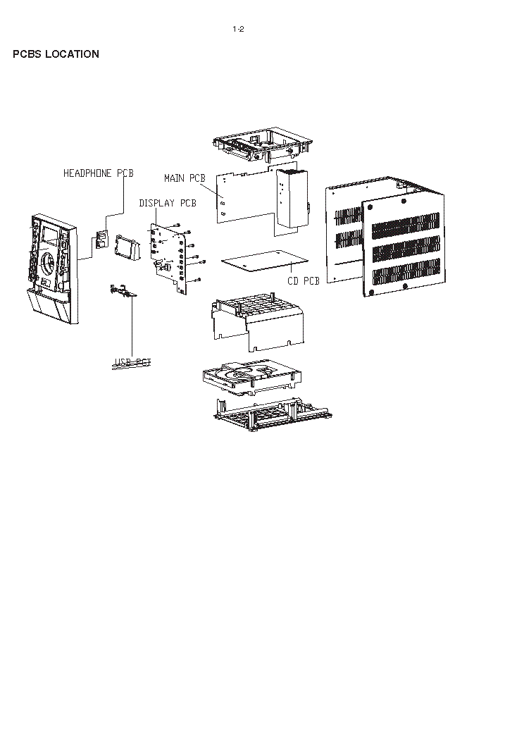 PHILIPS MCM393 Service Manual download, schematics, eeprom