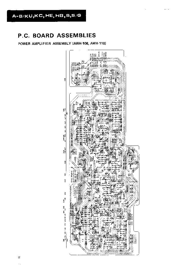 PIONEER A-8 Service Manual download, schematics, eeprom